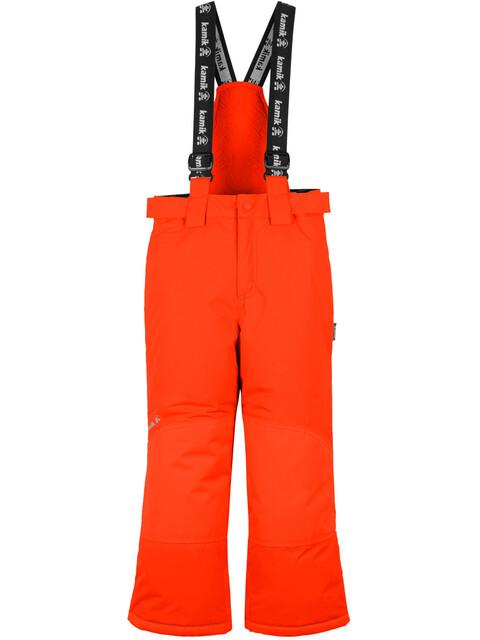 Kamik Harper Spodnie długie Dzieci czerwony